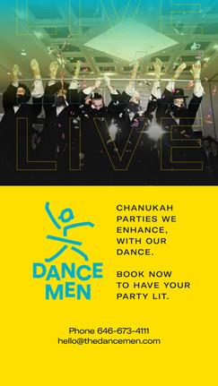 DanceMen Status Ad