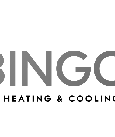 Bingo Heating And Cooling logo BW.png