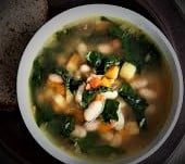 Collard Greens and Beans Soup