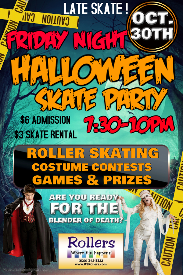 FRIDAY HALLOWEEN PARTY - Made with Poste