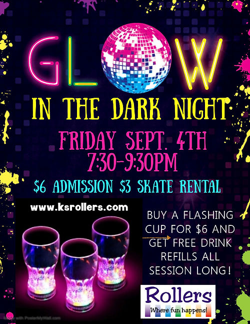 Copy of Glow in the dark birthday party