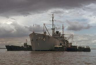 USS Tutuila ARG-4 Repair