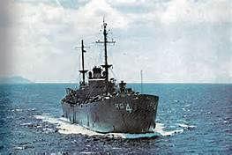 USS Tutuila ARG-4 Cruising