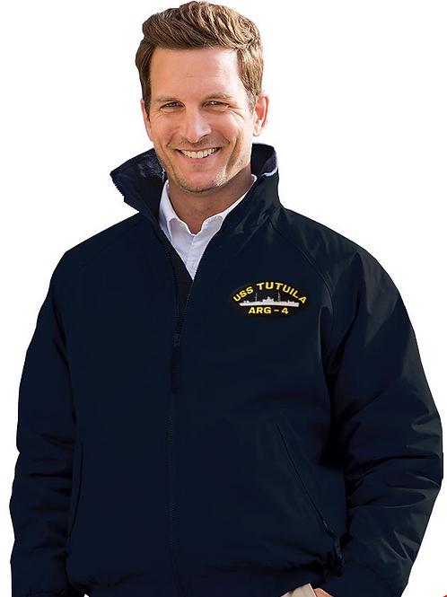 Ship's Jacket - Fleece Lined 3 Season Jacket   100% Taslan Nylon