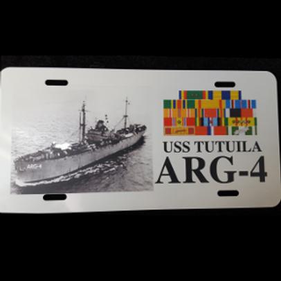 USS Tutuila Vanity License Plate