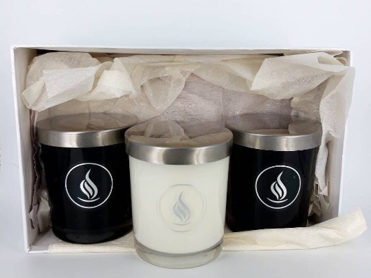 Triple Candle Set