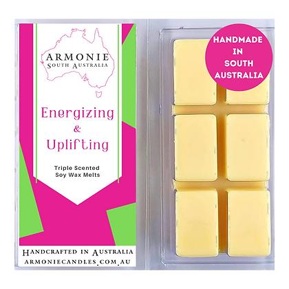 Energizing & Uplifting - Soy Wax Melts
