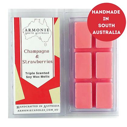 Champagne Strawberries - Soy Wax Melts