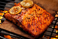 Salmon with Hawaiian Marinade
