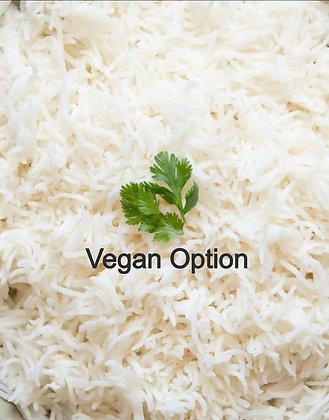 1Qt Basmati White Rice (click here)