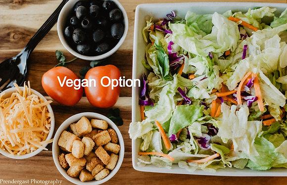 Garden Green Salad  (click here)
