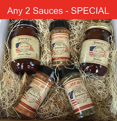 Any 2 Sauces Special