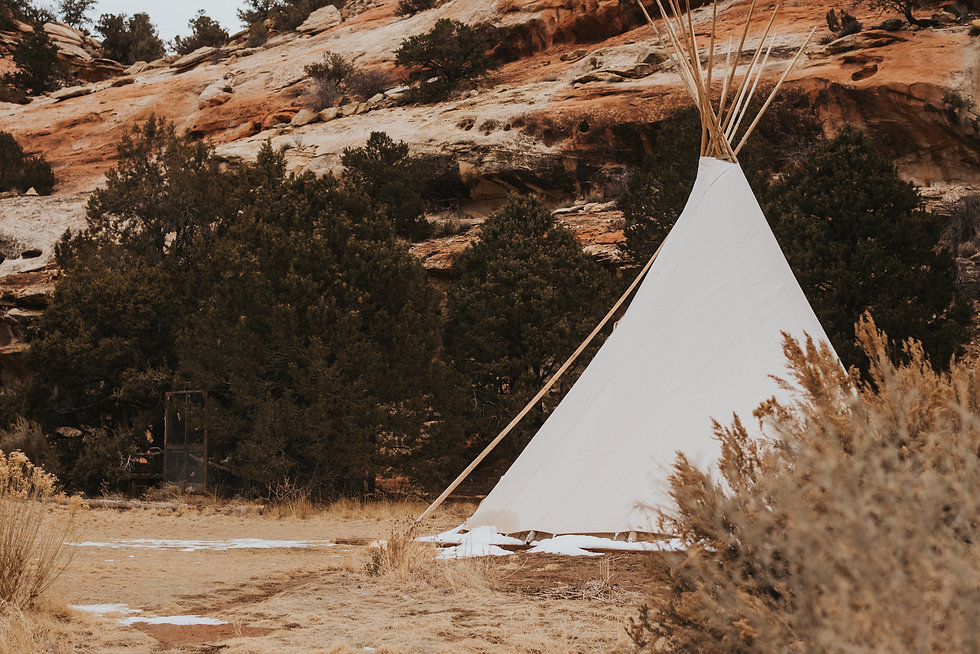Red rocks and teepee, Cortez colorado rental property, Colorado desert photography, desert location, mountain location