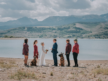 Heeney CO Lakeside Mountain Elopement | Tatjana & Barry