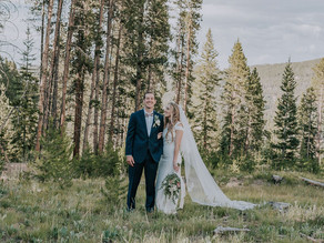 Bryce & Eryn's July Breckenridge Elopement in a Luxurious Mountain Private Residence