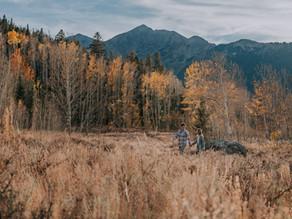 Mandi & Grayson's Fall Couples Session | Frisco, Colorado