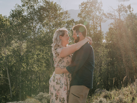 Romantic Couple's Mountain Session in Frisco CO | Ashley & Austin