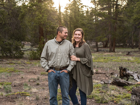Home Engagement Session in Leadville, CO | Adrienne & Kyle
