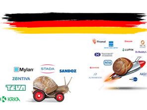 Notes on the German generics and biosimilars market 2016-2018.