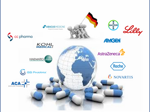 Parallel trading get 30% of branded products to Big Pharma in German market after patent expiration.