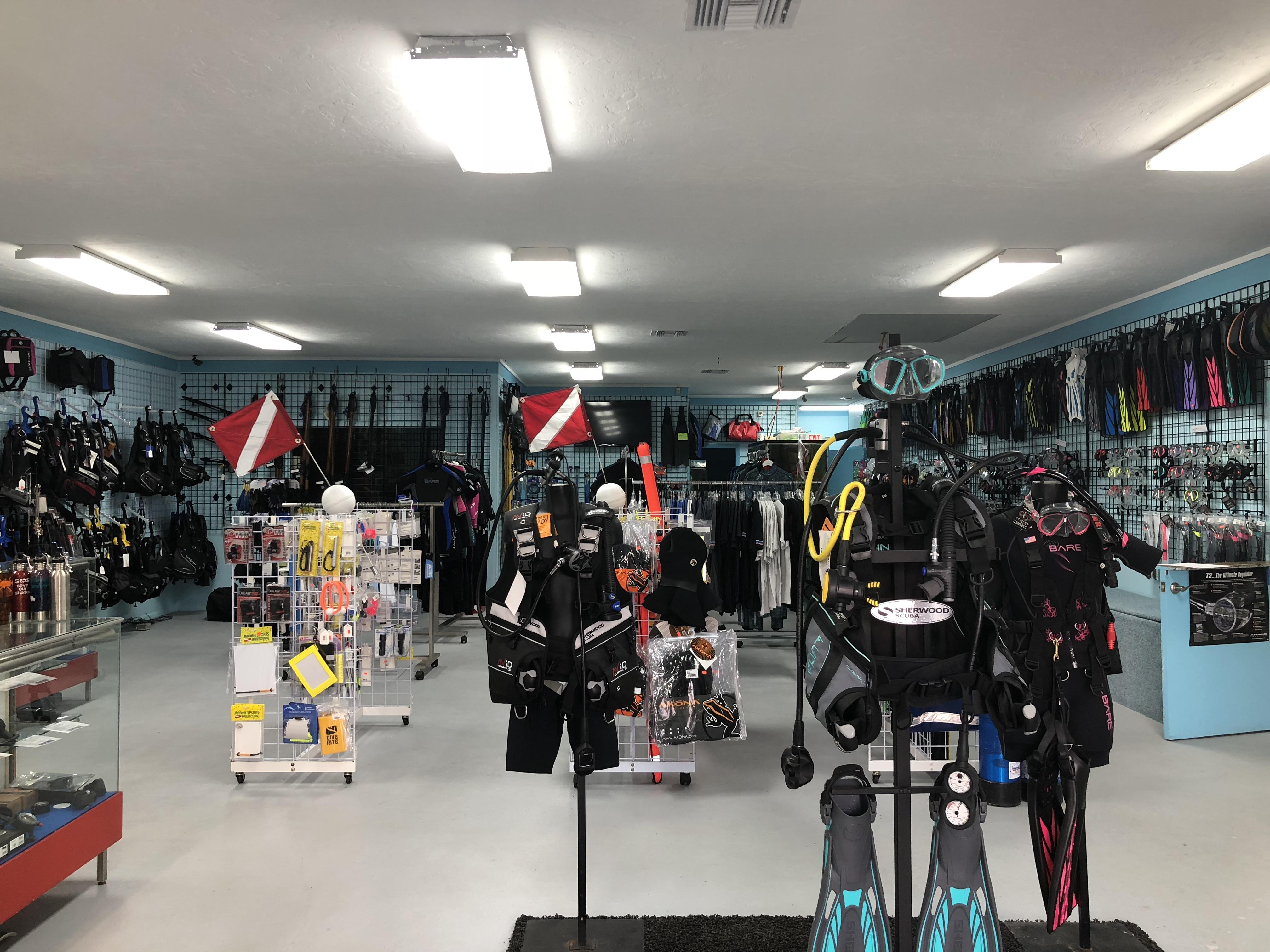 Shop inside