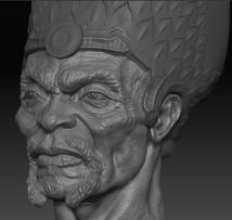 PTAH Head close-up