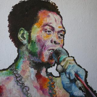 Fela - 11x14 Oil on canvas - 2005