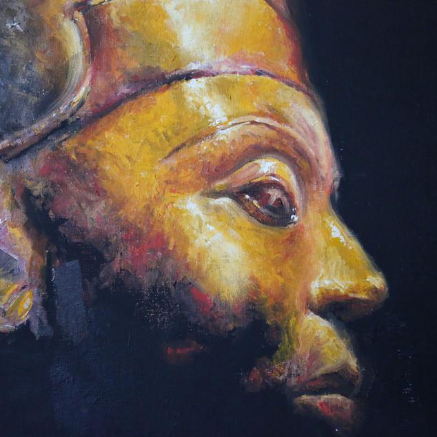 Nefertiti - 16x20 Oil on canvas - 2006