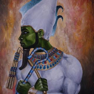 Ausar Osiris - 18x24 Oil on canvas - 200