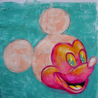 Ickey Mouse - Acylic on paper - 2019