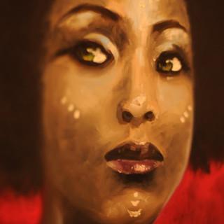 That Gaze - 11x14 Oil on canvas -2006