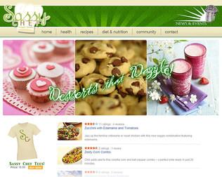 Sassy Chef Web Page