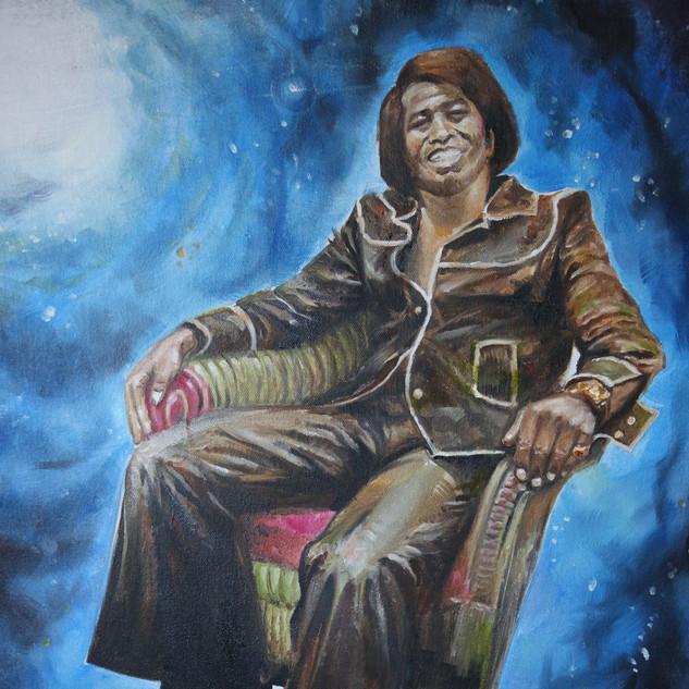 James - 20x24 Oil on canvas - 2007