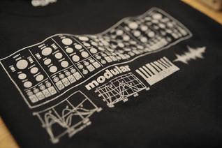 Modular Synth Tee Shirt Design