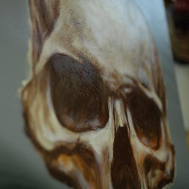 Skull - Oil on canvas - 2018