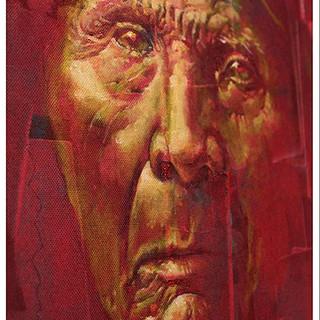 Native Elder - 18x24 Oil on canvas - 200