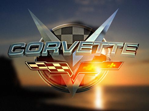 Corvette 3D Logo
