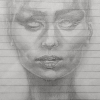 Lena - Pencil on paper - 2018