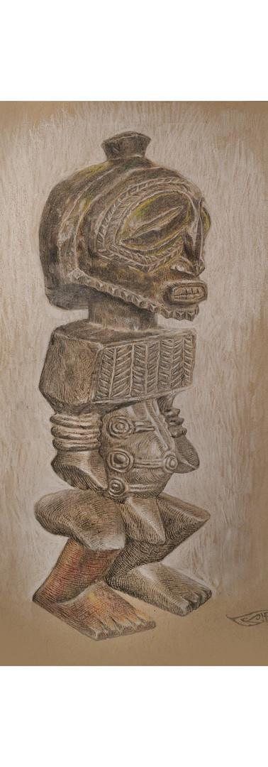 Congolese Reliquary Statue
