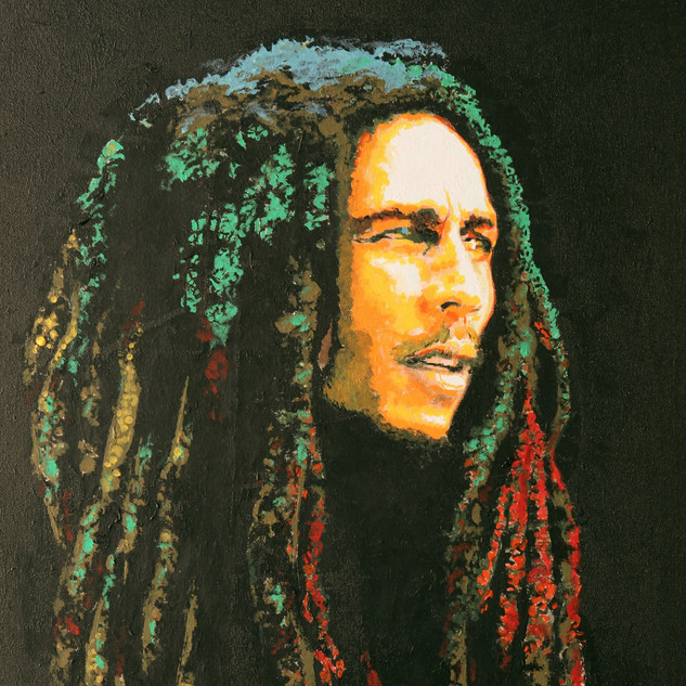Marley - 18x20 Acrylic on canvas - 2015.