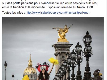"""La presse parle d'""""Un pont entre deux cultures""""."""