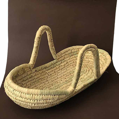 Baby bed palm basket