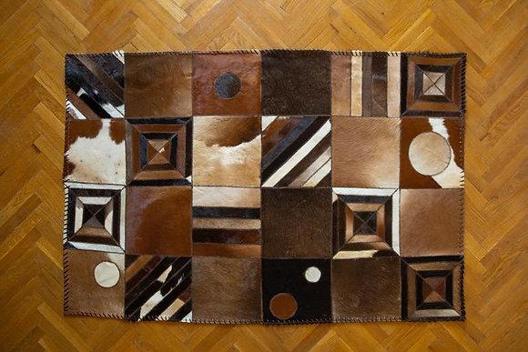 Natural Leather carpet
