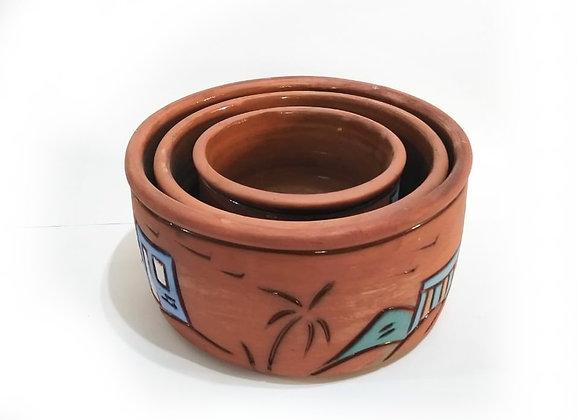 Pottery Tajeen set