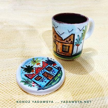 Pottery team kit طقم الشاي