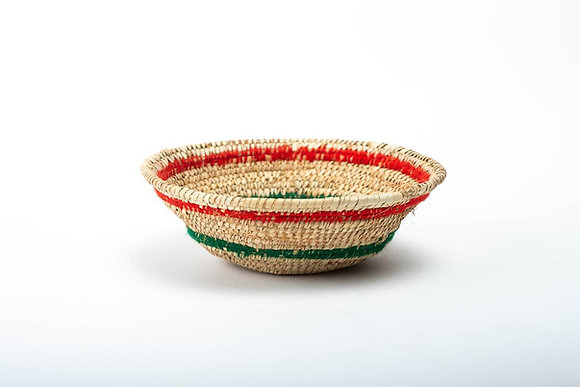 fruit straw basket طبق فاكهة سعف نخيل