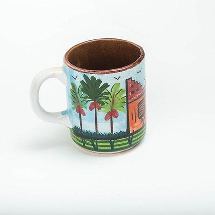 Pottery Nubian Mug