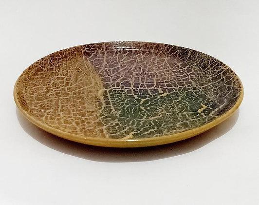 Pottery ceramic plate