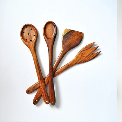 Sarso wood 4 forks set 30 cm