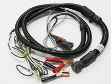 12 VDC Power & Signal Cable w/Clips (s/n 1100XXX only)